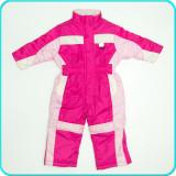 Combinezon—salopeta iarna, impermeabil, practic, OKAY→ fete | 2—3 ani | 92—98 cm, Roz