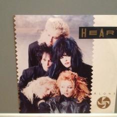 HEART - ALONE/BARACUDA (1987/CAPIOL/RFG) - Vinil Single pe '7/Impecabil - Muzica Pop capitol records
