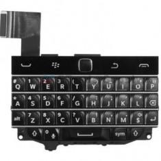Tastatura Qwerty si joystick Blackberry Q20 Classic Originala Neagra - Tastatura telefon mobil