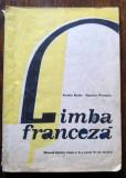 D - Manual limba franceza anul VI de studiu,clasa a X-a din 1985