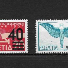 Elvetia 1937, Nestampilat