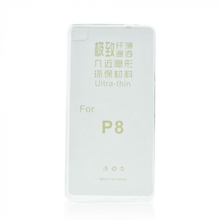 Husa Huawei P8 Ultra Slim 0.3mm Transparenta - CM01267