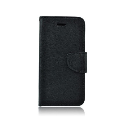 Husa Samsung Galaxy S6 Edge Fancy Book Neagra foto