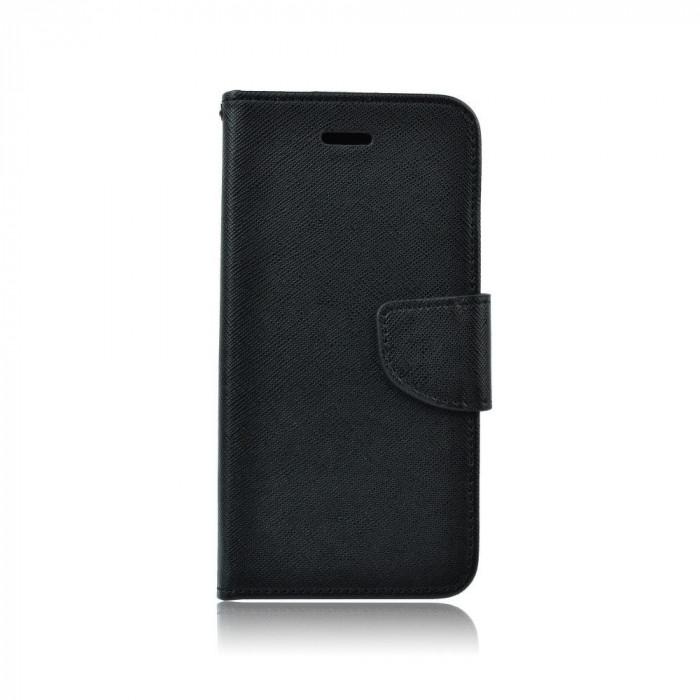 Husa Samsung Galaxy S6 Edge Fancy Book Neagra foto mare