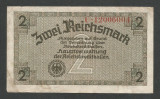 GERMANIA NAZISTA  2  MARCI MARK  1939 1940 1945  [12] Cu zvastica , P-R137b , VF