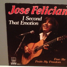 JOSE FELICIANO - I SECOND THAT../FREE..(1982/MOTOWN/RFG) - Vinil Single pe '7/NM - Muzica Pop Polygram