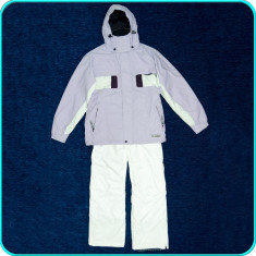 Costum ski dama, geaca + pantaloni—salopeta, impermeabil, PROTEST → femei | L 40 - Echipament ski