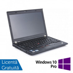Laptop Refurbished LENOVO Thinkpad x230, Intel Core i5-3320M 2.60 GHz, 4GB DDR3, 320GB SATA + Windows 10 Pro - Monitor LCD Dell, 17 inch