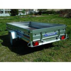 Remorca auto 750 kg Niewiadow 304 x 150 cm, RAR efectuat, 6 RATE Fara Dobanda - Utilitare auto