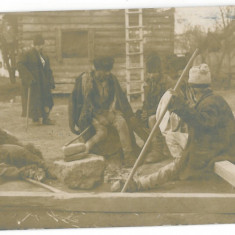 2861 - FOCSANI, Romania, ETHNICS - old postcard, CENSOR - used - 1918 - Carte Postala Moldova 1904-1918, Circulata, Fotografie