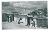 1092 - Dobrogea, BALCIC, Ethnics, Turkish house - old PC real PHOTO - used  1934, Circulata, Fotografie