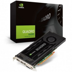 Placa video PNY nVidia Quadro K4000 3GB DDR5 192 Bit P34 - Placa video PC NVIDIA, PCI Express