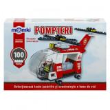 Set constructie tip lego - Elicopter - 100 piese