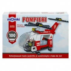 Set constructie tip lego - Elicopter - 100 piese - Set de constructie
