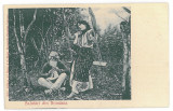 2569 - ETHNIC - old postcard - unused