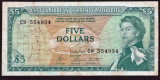 Caraibe 5 Dollars 1965 P#14g