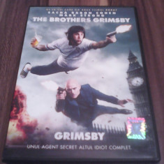 DVD FILM COMEDIE THE BROTHERS GRIMSBY TRADUCERE ROMANA