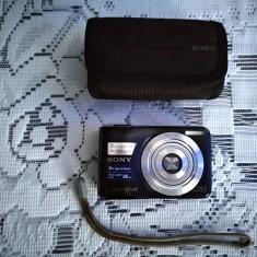 Aparat foto digital Sony Cyber-Shot, 14 megapixeli cu card memorie 2GB si husa - Aparate foto compacte