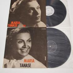 Maria Tănase - Din Cîntecele Mariei Tănase I, III - disc vinil ( vinyl, LP ) - Muzica Lautareasca electrecord