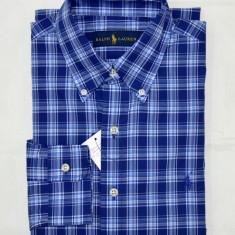 Camasa Ralph Lauren colectia noua S - Camasa barbati Ralph Lauren, Marime: S, Culoare: Albastru, Maneca lunga