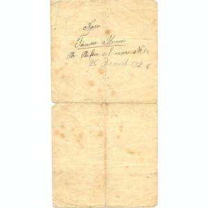 Z18 DOCUMENT VECHI -REGATUL ROMANIEI -BULETIN DE NASTERE ANICUTA LEONTE -1926