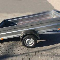 Remorca 750 Kg Basculabila 260x135x38 cm, 6 RATE Fara Dobanda, RAR efectuat - Utilitare auto