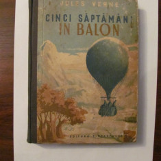 "CY - Jules VERNE ""Cinci Sapatamani in Balon"""