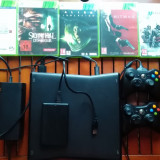 Xbox 360 Microsoft + 500 de jocuri