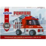 Lego camion de Pompieri cu scara
