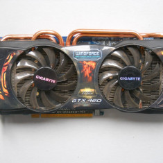 Placa video Gigabyte GTX 460 1GB DDR5 256-bit, DirectX 11. - Placa video PC Gigabyte, PCI Express, nVidia