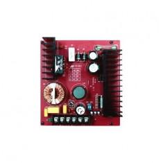Placa sursa in comutatie cu backup, Secolarm, tensiune stabilizata reglabila 6-24 V / 7A (continuu)/7.5A (varf)