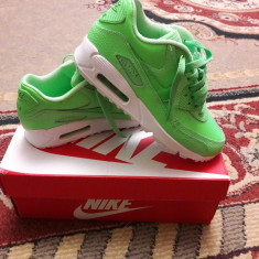 ADIDAȘI NIKE AIR MAX NOI DAMA - Adidasi dama Nike, Culoare: Verde, Marime: 36.5, Piele naturala