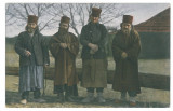 3652 - Ethnic, MONKS, Romania - old postcard - unused