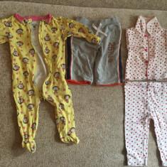 Lot body si costumase, Marime: 9-12 luni, Culoare: Rosu