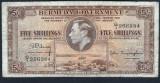 Bermuda 5 Shillings 1937 P#8b
