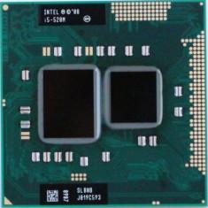 Intel Mobile I5-520m 2.40ghz Thinkpad T410 T510 W510 L412 L512 Socket G1 PGA988 - Procesor laptop