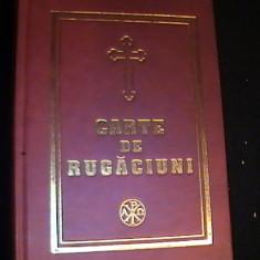 CARTE DE RUGACIUNI PENTRU TOT CRESTINUL-TIP. CU BINECUV. PARINTELUI JUSTINIAN- - Carti bisericesti