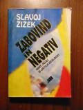 Zabovind in negativ. Kant, Hegel si critica ideologiei - Slavoj Zizek (2001)