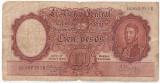 ARGENTINA 100 PESOS ND(1957) U