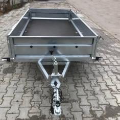 Remorca 750 kg Basculabila 263x132cm, RAR efectuat, 6 RATE Fara Dobanda - Utilitare auto
