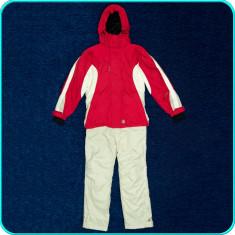 Costum ski dama, geaca+pantaloni iarna, impermeabil, TCM → femei | marimea 34—36 - Echipament ski