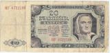 POLONIA 20 ZLOTI 1948 U