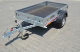 Remorca 750 kg, dim 204x109x27 cm RAR Efectuat, Acum 6 Rate Fara Dobanda