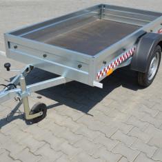 Remorca 750 kg, dim 204x109x27 cm RAR Efectuat, Acum 6 Rate Fara Dobanda - Utilitare auto