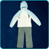 Costum ski dama, geaca + pantaloni iarna, impermeabil, COLUMBIA → femei | mar. S