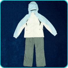 Costum ski dama, geaca + pantaloni iarna, impermeabil, COLUMBIA → femei | mar. S - Echipament ski