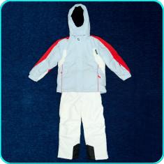 Costum ski, geaca + salopeta iarna, CUTTING EDGE→ copii | 9—10 ani | 140 cm - Echipament ski