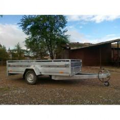 Remorca auto 750 kg Boro Majster 300x150 cm, RAR efectuat, 6 RATE Fara Dobanda