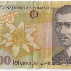 ROMANIA 500000 Lei 2000 Isarescu VF - Bancnota romaneasca