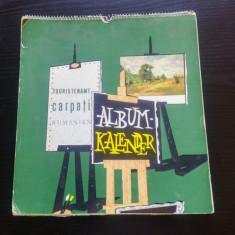 Album Kalender/ Touristenamt, Carpati, Rumanien// calendar promovare turistica - Calendar colectie
